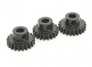 Закаленный стальной шестерней Комплект 32P To Fit 5мм вал (20/21 / 22T)
