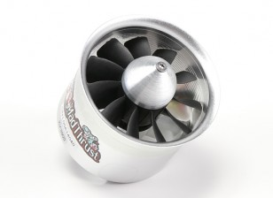 Д-р Mad Thrust 70мм 11-Blade сплав EDF 3900kv Мотор - 1300watt (4S) Счетчик вращающихся