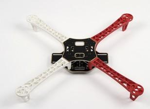 Q450 V3 стекловолокна Quadcopter Рама 450мм - Интегрированная PCB Версия