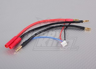 HXT-4 мм разъем жгута проводов для 2S Hardcase Седло пакет LiPoly батарей