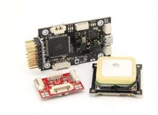 GPS HobbyKing HKPilot Mega Combo Мини-Flight Controller и модуль питания