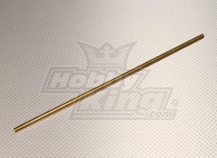 Латунь Опора вала втулки 6 мм х 300 мм (1 шт)