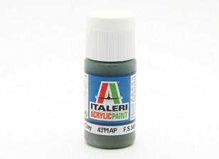 Italeri Акриловая краска - Flat Dark Slate Grey