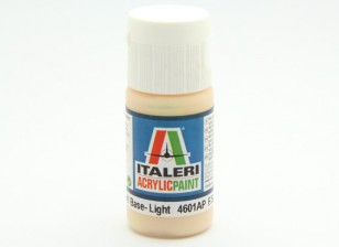 Italeri Акриловая краска - Плоский тон кожи Оттенки Base Light
