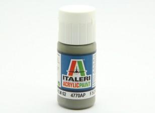 Italeri Акриловая краска - FGrau RLM 02