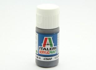 Italeri Акриловая краска - Graugrün RLM74