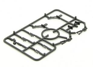 Мини-Комплект принадлежностей с 2 х валторн, 2 х дверные петли, 2 х колеса Цанги и 2 х вилочный суставов