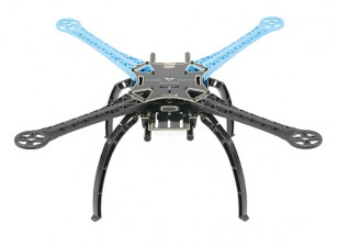 S500 стекловолокна Quadcopter Рама 480мм - Интегрированная PCB Версия