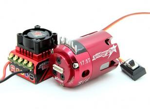 Trackstar ЕДОР утвержден 1/10-ый класс со Brushless ESC и двигателя Combo (17.5T)