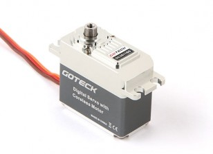 Goteck DC2611S Digital MG Metal Обсаженный High Torque Servo 22кг / 0.14sec / 77g