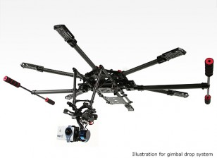 H-King камера Gimbal падения карданного Free View