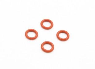 O-Ring (4.8x6mm) - BSR Гонки BZ-444 или 444 Pro 4WD 1/10 Гонки Багги (4шт)