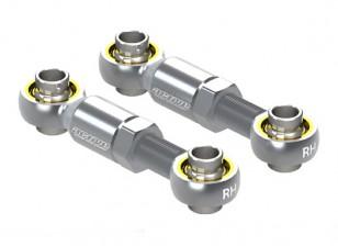 Активный Хобби Алюминиевый Регулируемая рулевая тяга 20 ~ 25 мм (серебро)