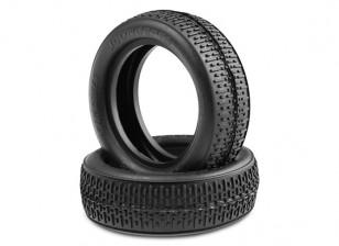 JCONCEPTS Штрих-коды 1 / 10th 2WD багги резина спереди - Синий (Soft) Составные