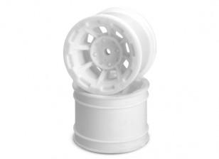 JCONCEPTS опасности 1/10-я кары Задний колесный диск - Белый