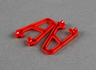 Шасси для FPV250 В4 Призрак Edition, красный (2 шт)