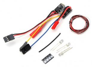 2 в 1 2S Lipo ESC ж / LED Light Set - OH35P01 1/35 Rock Crawler Kit