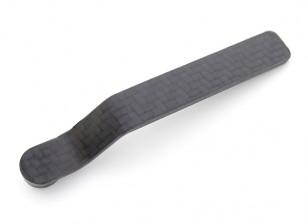 Углеродное волокно хвостового колеса Кронштейн 20cc ~ 30cc 90x2.3x12mm