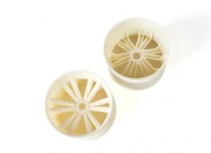BSR Beserker 1/8 Truggy - колесный диск (белый) (1 пара) 817251-W
