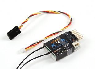 FrSky X4RA 3 / 16ch 2.4Ghz ACCST приемник ж / S.Bus, Smart Port & телеметрия (2015 версия ЕС)