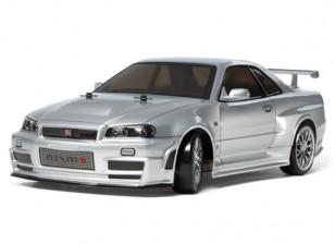 Tamiya 1/10 Scale Skyline GT-R Z-Tune Kit R34 TT02D серии 58605