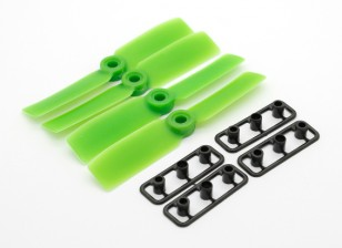 GemFan Булл Нос 3545 GRP / нейлон пропеллеры CW / CCW Набор зеленый (2 пары)