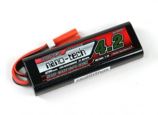 Turnigy нано-технологий 4200mAh 2S 25C Lipo Hardcase пакет