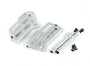 CNC Таро алюминиевый ESC Обложки Назад для TL250 и TL280 из углеродного волокна Multi-роторов