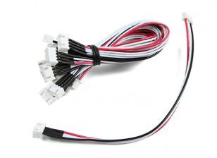 JST-XH 3S провода выдвижения 20cm (10pcs / мешок)