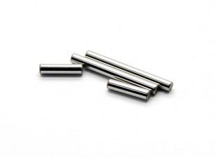 Шестерни центрального вала A, B (2шт) - раздолбай RockSta 1/24 4WS Mini Rock Crawler