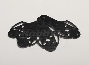 Hobbyking X525 V3 стекловолокна крепление двигателя (4 шт / мешок)