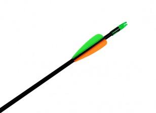 """30 """"Стекловолокно Arrow для Recurve Луков (1 Arrow)"""
