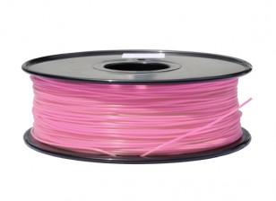 HobbyKing 3D Волокно Принтер 1.75mm PLA 1KG золотника (розовый)