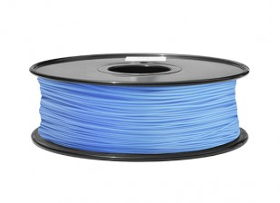 HobbyKing 3D Волокно Принтер 1.75mm ABS 1KG золотника (синий P291C)