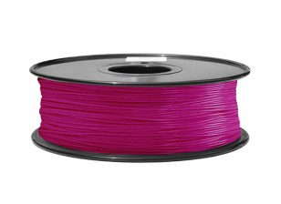 HobbyKing 3D Printer Filament 1.75mm ABS 1KG Spool (Translucent Purple)