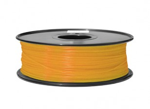 HobbyKing 3D Волокно Принтер 1.75mm ABS 1KG золотника (Fluorescent Orange)