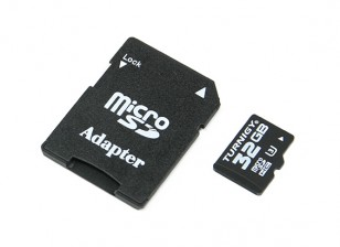 Turnigy Card 32GB У3 Micro SD памяти (1шт)