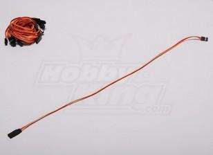 30см Servo Lead (JR) 32AWG Ultra Light (10шт / комплект)