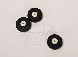 Суперлегкость колеса D25xH10 (3шт / пакет)