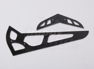 HK600GT CF горизонтальный / вертикальный хвостовой плавник (HN6058)