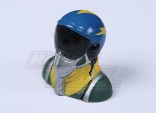 Jet Pilot (синий) (H37 х W40 х D25mm)