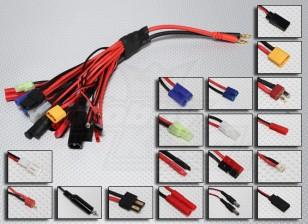 PLUG-KING Multi-19 Зарядка Plug адаптер Set Mega