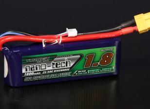 Turnigy нано-технологий 1800mah 3S 25 ~ 50C Lipo обновления