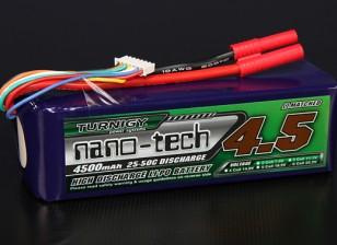Turnigy нано-технологий 4500mAh 6S 25 ~ 50C Lipo обновления