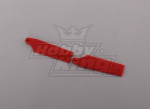 450 Размер Heli Красный Хвост лезвия (пара)