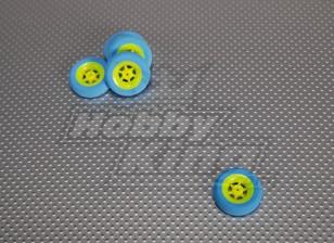 Суперлегкость 5 спицевые колеса D30x9 (5pcs / мешок)