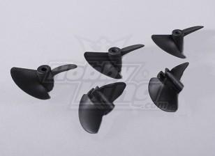 2-Blade Boat пропеллеры 40x45mm (5pcs / мешок)