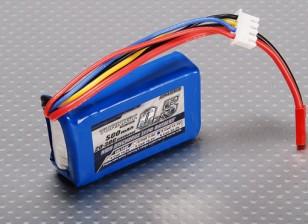 Turnigy 500mAh 3S 20C Lipo обновления