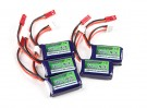 Turnigy nano-tech 180mAh 2S 25~50C Lipo Pack (5pcs)