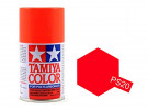 Tamiya Color Paints for Polycarbonate PS-20 Fluorescent Red Spray Paint (100ml)